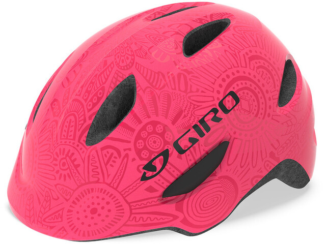Giro Scamp Kask rowerowy Dzieci, bright pink/pearl